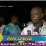 Gamou Pape DIALLO 2017 à Thiès