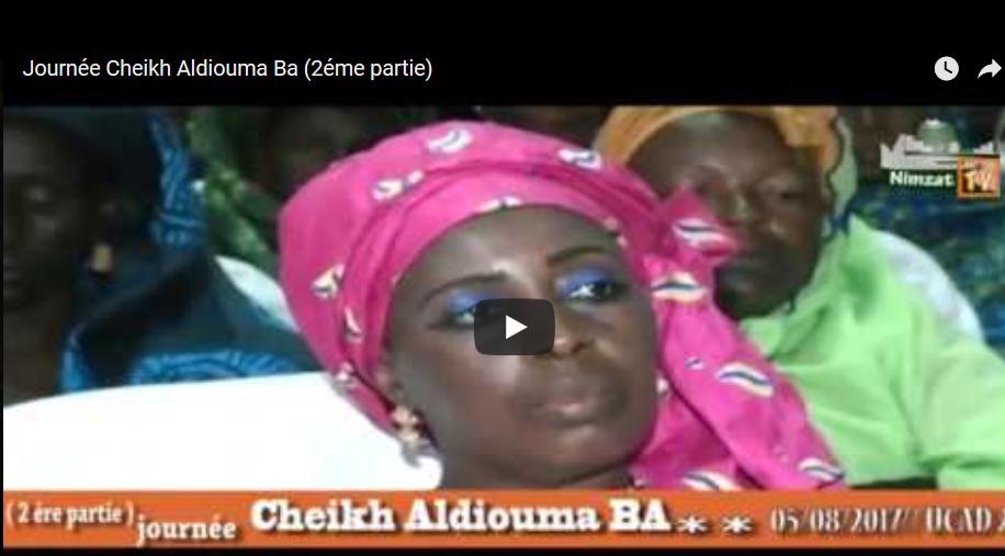 Janus Tv Meubel.Journee Cheikh Aldiouma Ba 2eme Partie Nimzat Tv