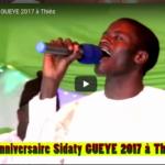 Anniversaire Sidaty GUEYE 2017 à Thiès