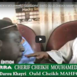 ZIARRA CHERIF CHEIKH MOUHAMED SAMSIDINE DIATO OULD CHEIKH MAHFOUZE AIDARA
